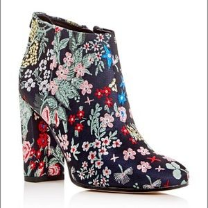Sam Edelman Cambell Floral Ankle Boots 8.5